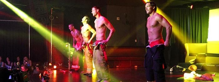 The Hollywood Men strippers are the real Magic Mikes