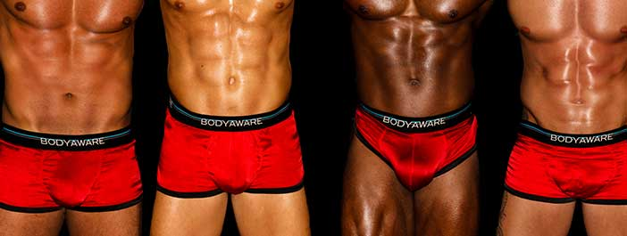 BodyAware briefs worn by The Hollywood Men