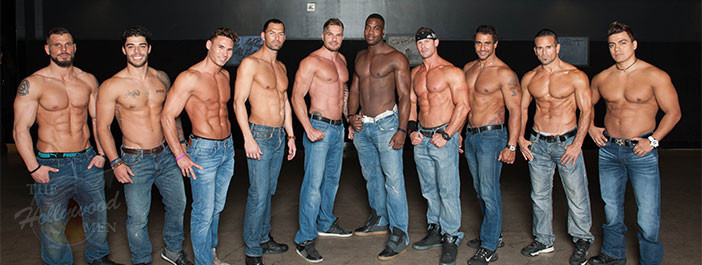 The Hollywood Men at Magic Mike XXL advance screening June 29