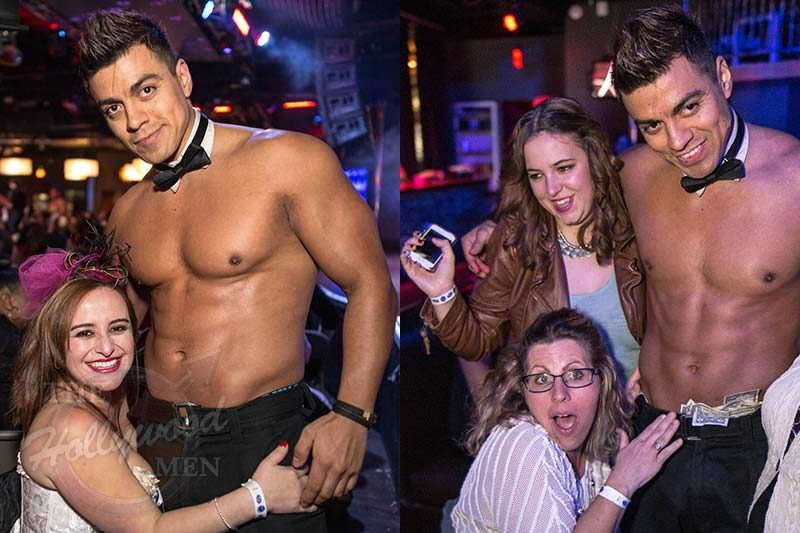 Jair - Topless Waiter at The Hollywood Men