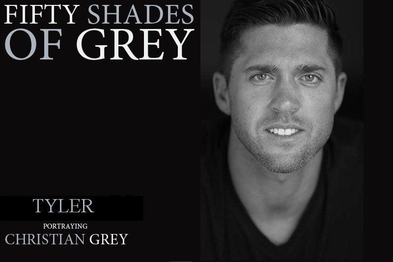 Male Strip Act   Fifty Shades of Grey   The Hollywood Men