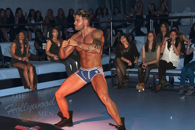 Los Angeles Male Stripper Photo | Supperclub, Hollywood, CA