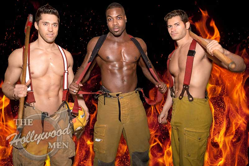 Fireman strip act starring Ricky, Paolo and Tyler