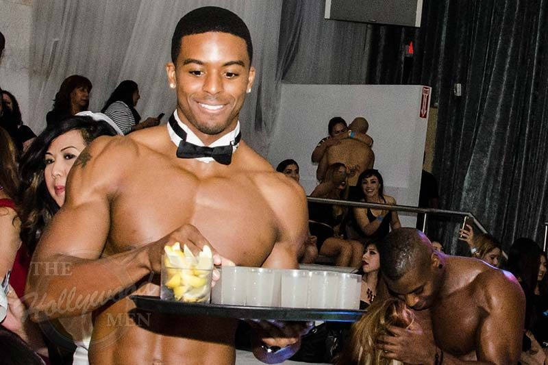 Topless Waiter at The Hollywood Men
