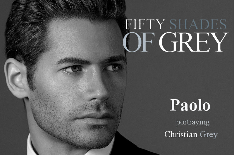 Paolo portrays Christian Grey